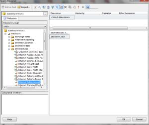 12 Parameterized Report - Create Dataset c