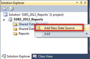 3 Add New Shared Data Source