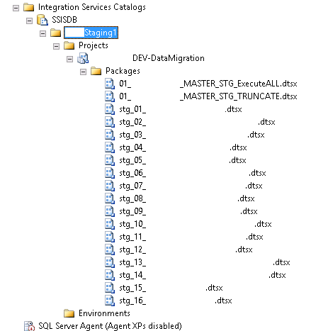 Deploying an SSIS Project (using an  ispac project