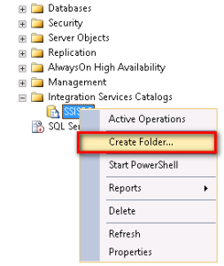 SSIS-SSISDB-CreateFolder